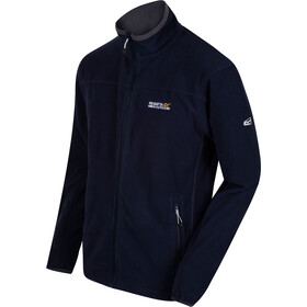 Regatta Stanton II Fleece Jas Heren, navy/seal grey